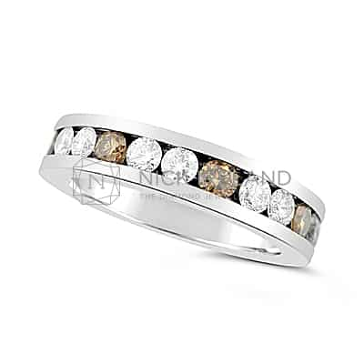 DWR5/ PLATINUM ARGYLE DIAMOND WEDDING RING